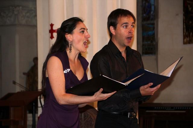 Camille Royer (mezzo-soprano) & Nicolas François (ténor)